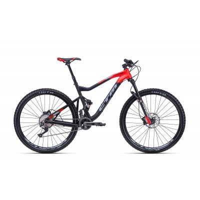 CTM Ridge Xpert  29 Matt Black/Red MD,2018
