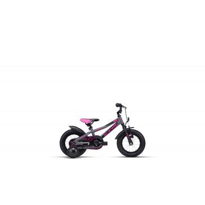 CTM BILLY 12 matná šedá / ružová,2020