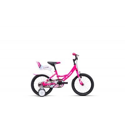 CTM JENNY 16 ružová / biela 2020