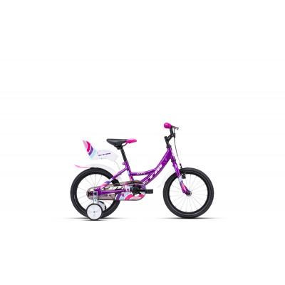 CTM JENNY 16 fialová biela 2020