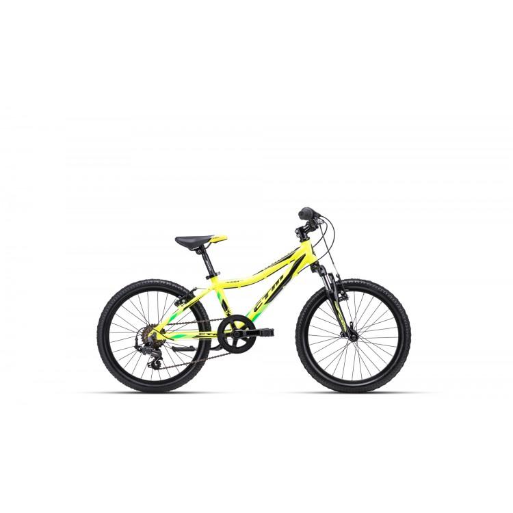CTM JERRY 2.0 20 žltá / čierna 2020