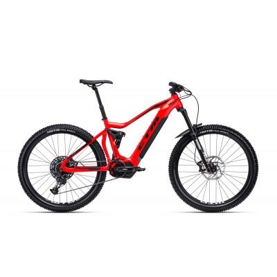 CTM SWITCH 27,5 matná červená / čierna L 2020