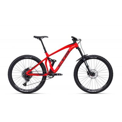 CTM SCROLL 27,5 matná červená / čierna XL 2020